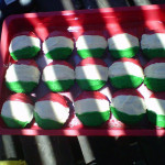Italian Flag Cupcakes