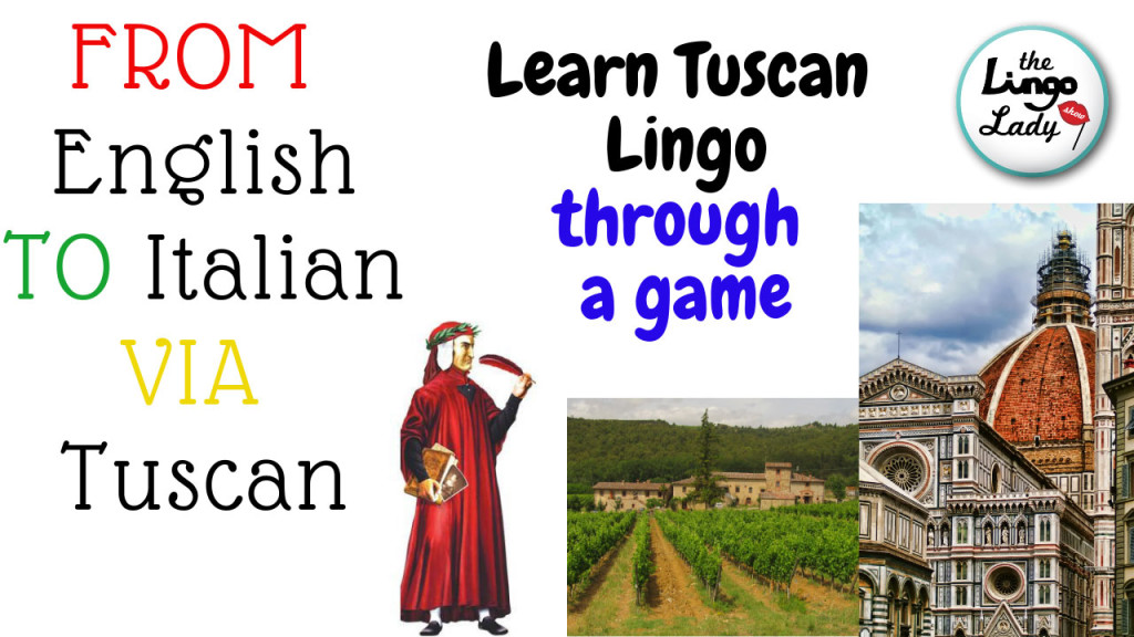 Learn some Tuscan