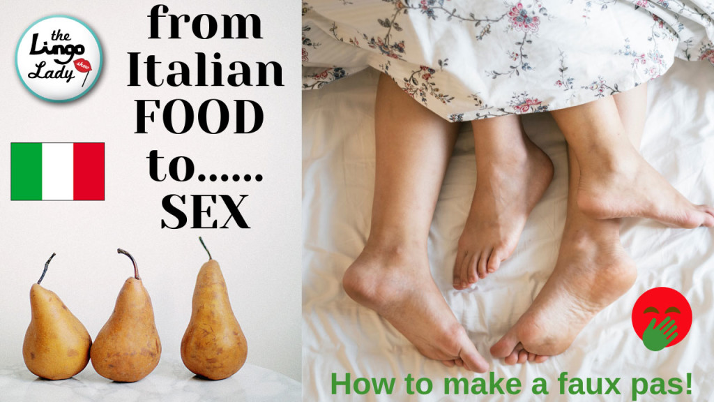 Italian food and Sex