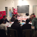 Students in action at Lingo Italian School
